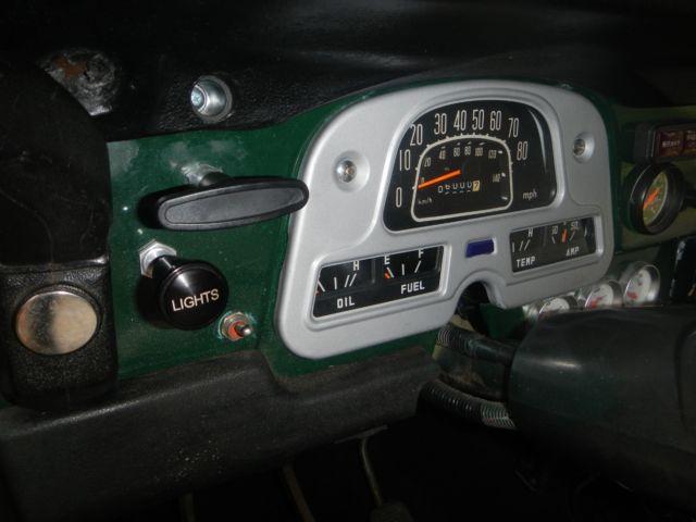 FJ40 Toyota Landcruiser - Diesel - 3B Toyota Engine - (BJ40