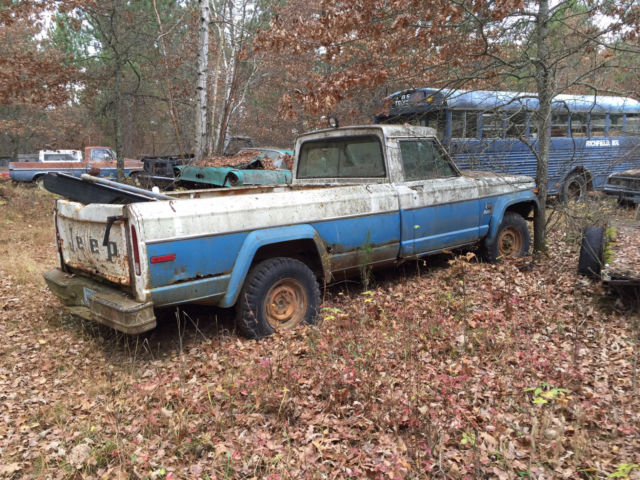 for sale 1972 jeep j10 pickup 4x4 00 lots of vehicles parts new used for sale jeep j10. Black Bedroom Furniture Sets. Home Design Ideas