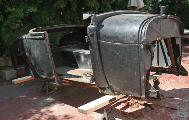 Ford 1928 1929 Model A Hot Rat Rod Roadster 28 29 Steel