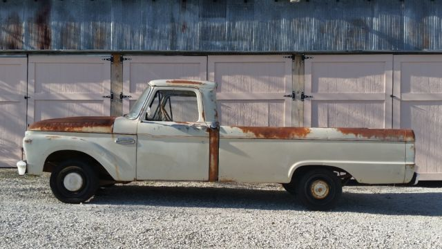 ford 1965 f 100 patina antique vintage truck for sale ford f 100 1965 for sale in saint clair. Black Bedroom Furniture Sets. Home Design Ideas