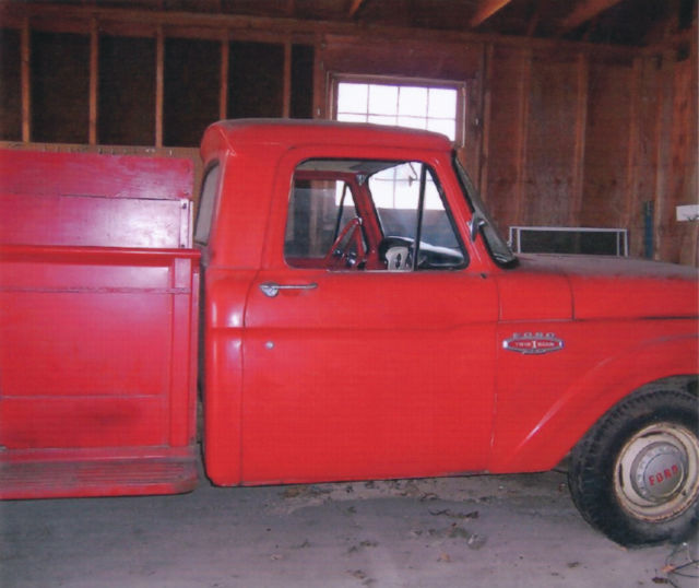 Ford 1966 250 Long Bed Pick-up For Sale
