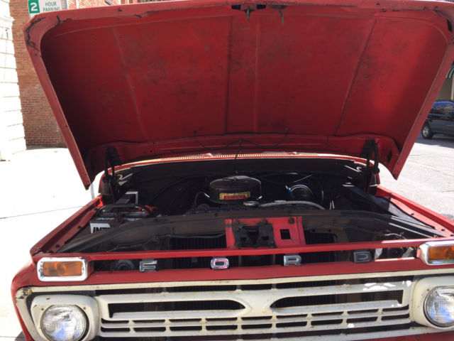 Ford 1966 250 long bed pick up for sale Ford F 250 1966
