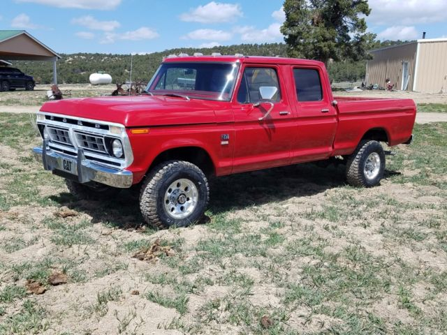 Ford 1976 F 250 4x4 Crew Cab Short Bed For Sale Ford F