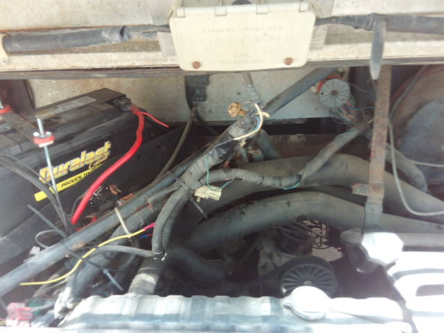 Catalytic Converter Buyers >> Ford E350 Step Van Bread Box Delivery Truck 1990 Drive it ...