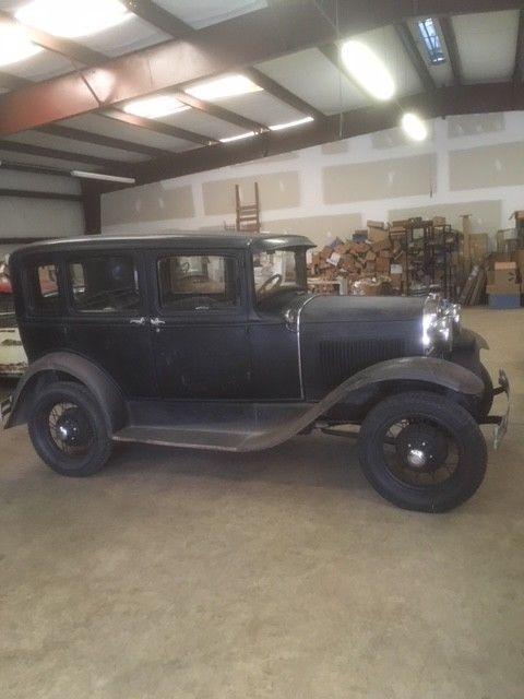 Ford model a 4 door town sedan very original for sale for 1930 model a 4 door sedan