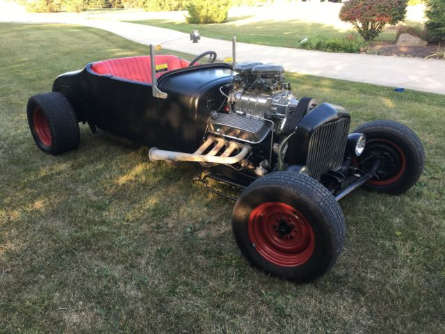 Ford Model T Roadster with Big Block Chevy and 6-71 Blower. HOT ROD No Reserve for sale - Ford ...