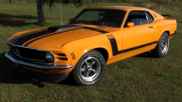 Ford Mustang Boss 302 1970 Tribute 1969 1968 1967 For