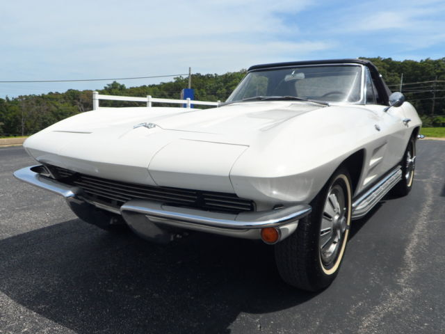 four speed corvette stingray with brand new convertible top for sale chevro. Cars Review. Best American Auto & Cars Review