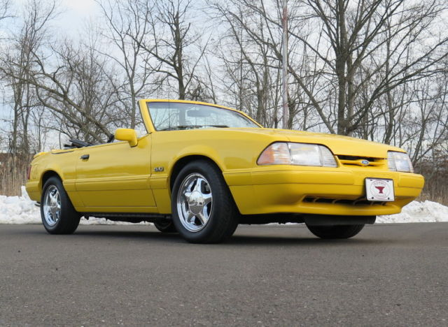 foxbody 5 0l v8 automatic lx gt convertible for sale ford mustang 1993 for sale in lansdale. Black Bedroom Furniture Sets. Home Design Ideas