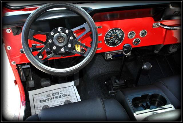 Frame Off Restored 1980 Jeep Cj5 Renegade Excellent