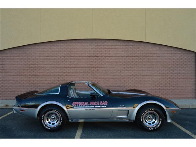 Gorgeous 37k actual mile two owner 1978 corvette pace car for Motor mile auto sales