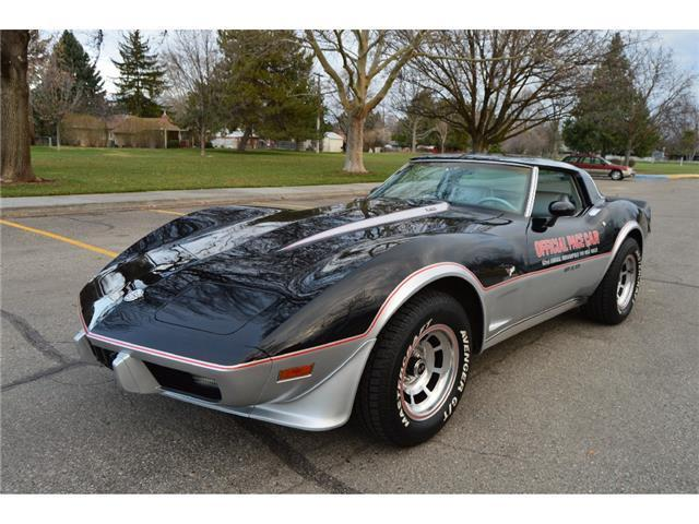 gorgeous 37k actual mile two owner 1978 corvette pace car 4speed t tops a c for sale. Black Bedroom Furniture Sets. Home Design Ideas