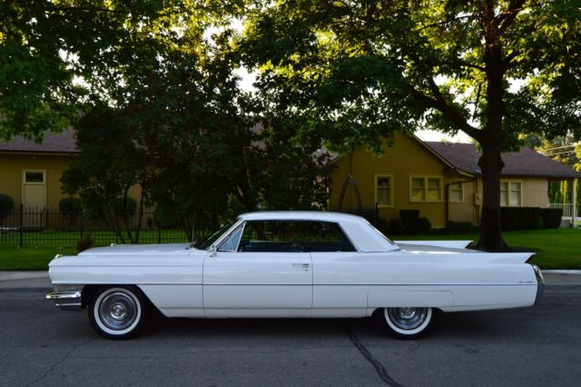 GORGEOUS ONE OWNER SURVIVOR 97K MILES 1964 CADILLAC COUPE