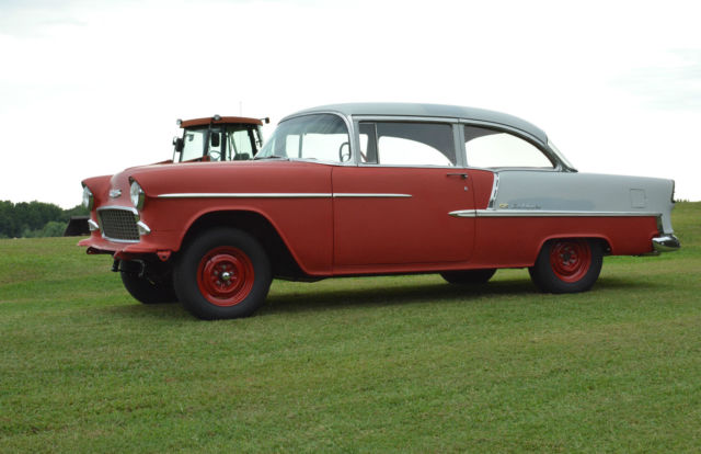 Grandpaws vintage 1955 chevrolet belair 2 door sedan 350ci for 1955 chevy bel air 4 door for sale