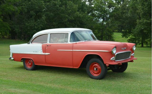 Grandpaws vintage 1955 chevrolet belair 2 door sedan 350ci for 1955 chevy 4 door for sale
