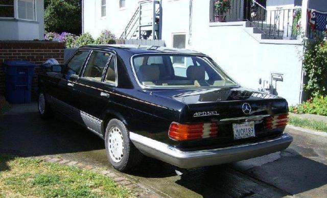 1988 mercedes 420sel factory black tan ca car 560sel for 1988 mercedes benz 420sel for sale