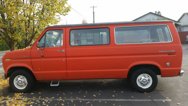 2f70765785 HANDICAP EQUIPPED 1979 FORD ECONOLINE VAN E 150 WHEELCHAIR LIFT V8 AUTOMATIC