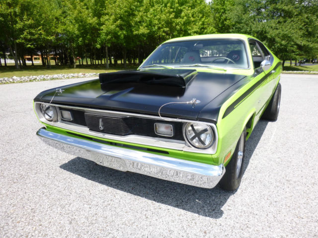 hey mopar fans one of a kind 1970 duster must sell call 8565351960 to make offer for sale. Black Bedroom Furniture Sets. Home Design Ideas