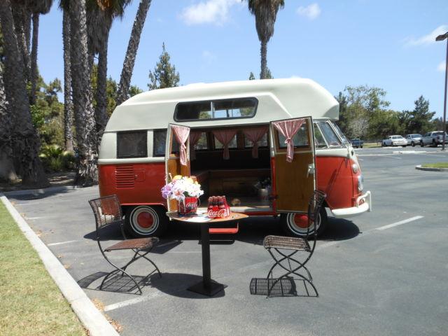 High Top Camper Bus Transporter Kombi VW Class Vintage R V For Sale