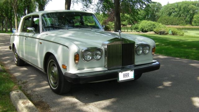 historic 1980 rolls royce silver wraith ii long wheelbase 4 door limousine for sale rolls. Black Bedroom Furniture Sets. Home Design Ideas