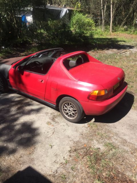 honda civic del sol for sale honda del sol 1993 for sale in gainesville florida united states. Black Bedroom Furniture Sets. Home Design Ideas