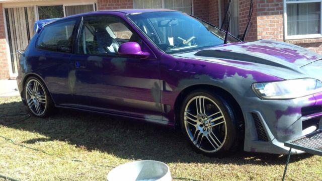 94 civic hatchback dx
