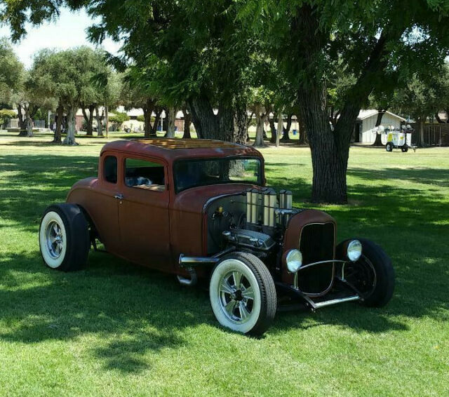 HOT ROD HENRY STEEL HILBORN FUEL INJECTION MUNCIE vintage deuce