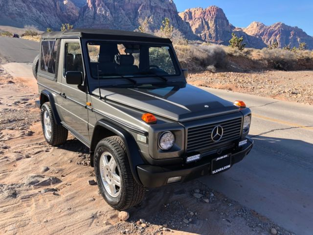Icon 4x4 tlc mercedes benz g class 44 000 miles g wagen for Mercedes benz gelandewagen for sale