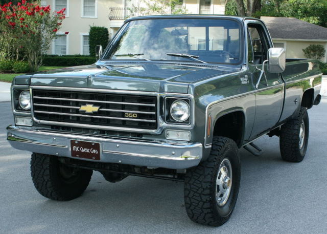 immaculate two owner 4 inch lift 1972 chevrolet ck 20 pickup 4x4 33k mi for sale. Black Bedroom Furniture Sets. Home Design Ideas