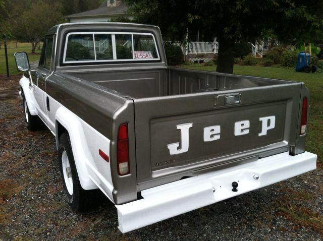 j10 jeep pickup truck 1981 restored for sale jeep j10 pickup 1981 for sale in asheboro north. Black Bedroom Furniture Sets. Home Design Ideas