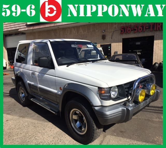 japanese import 1991 mitsubishi pajero 4x4 inter cooler turbo diesel no reserve for sale. Black Bedroom Furniture Sets. Home Design Ideas