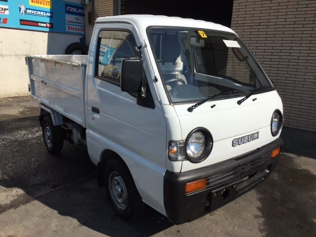 japanese mini truck 1991 suzuki carry 4x4 deep dump 8k miles at no reserve for sale suzuki. Black Bedroom Furniture Sets. Home Design Ideas