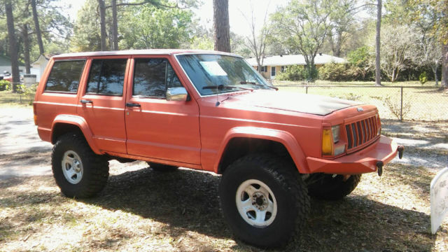 jeep cherokee 4x4 bright orange for sale jeep cherokee 1990 for sale in jacksonville florida. Black Bedroom Furniture Sets. Home Design Ideas