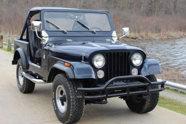 jeep cj 7 v8 frame off restoration for sale jeep cj 7 1979 for sale in chagrin falls ohio. Black Bedroom Furniture Sets. Home Design Ideas