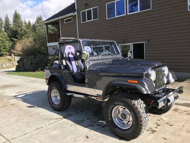 jeep cj5 1976 for sale jeep cj 1976 for sale in clinton washington united states. Black Bedroom Furniture Sets. Home Design Ideas