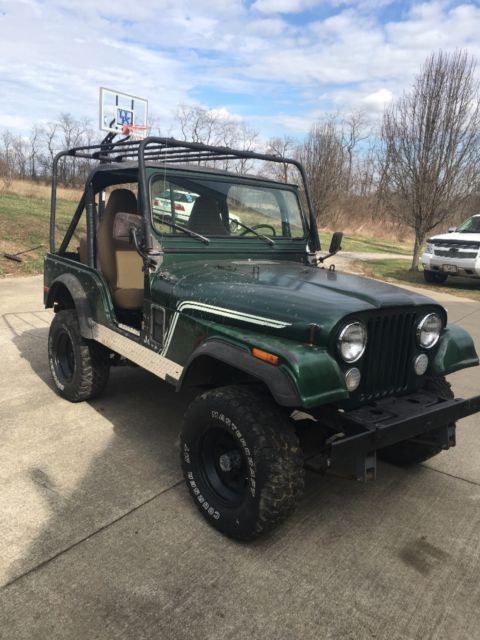 jeep cj5 1977 all original for sale jeep cj 1977 for sale in wilmore kentucky united states. Black Bedroom Furniture Sets. Home Design Ideas