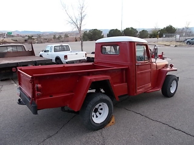 jeep truck classic 4x4 vintage antique retro rare red overland rat rod hot rod for sale willys. Black Bedroom Furniture Sets. Home Design Ideas
