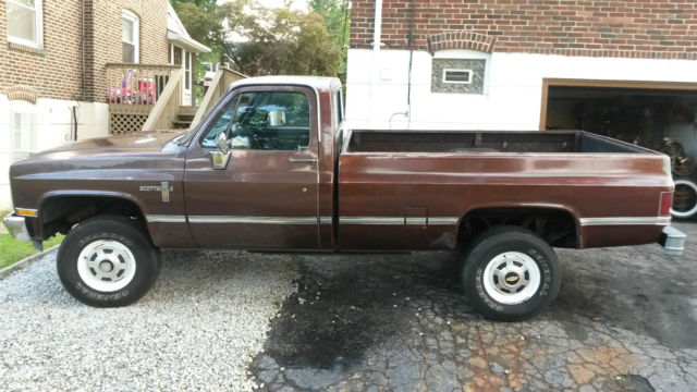 k20 diesel 4x4 for sale - Chevrolet Other Pickups 1983 for ...