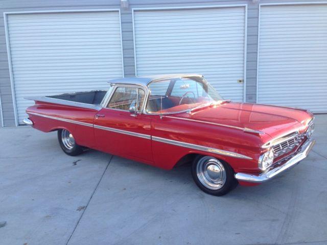 l00k 1959 chevrolet el camino california car 350 auto rare. Black Bedroom Furniture Sets. Home Design Ideas