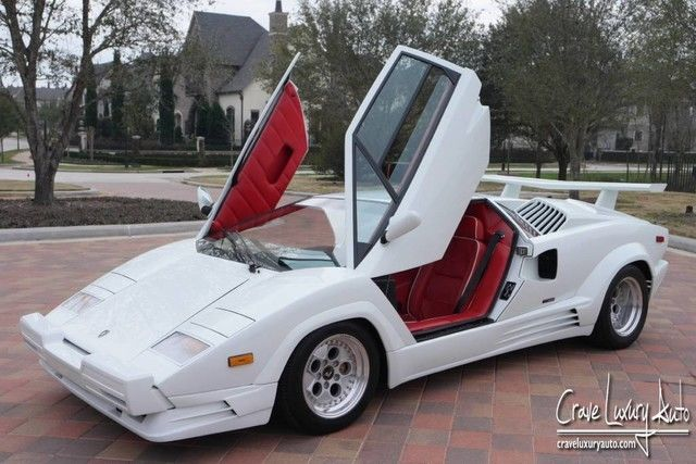 lamborghini countach 25th anniversary rare low miles crave. Black Bedroom Furniture Sets. Home Design Ideas