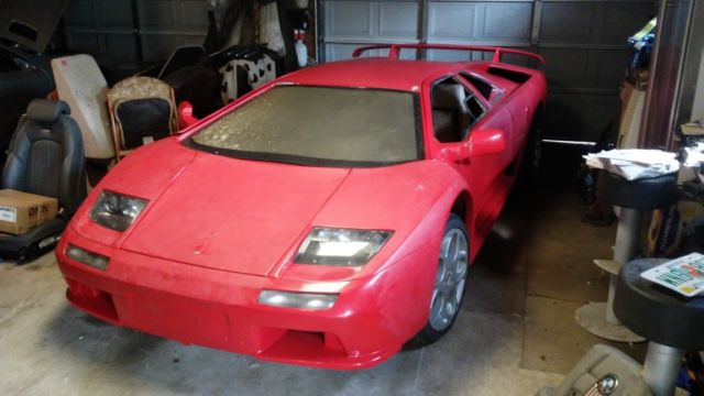 Lamborghini Diablo Vt 6 0 Kit Car Gull Wing Doors Needs Finishing