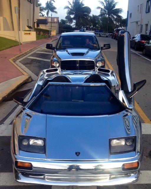 Lamborghini Replica / Diablo Prototype. Mirror Chrome