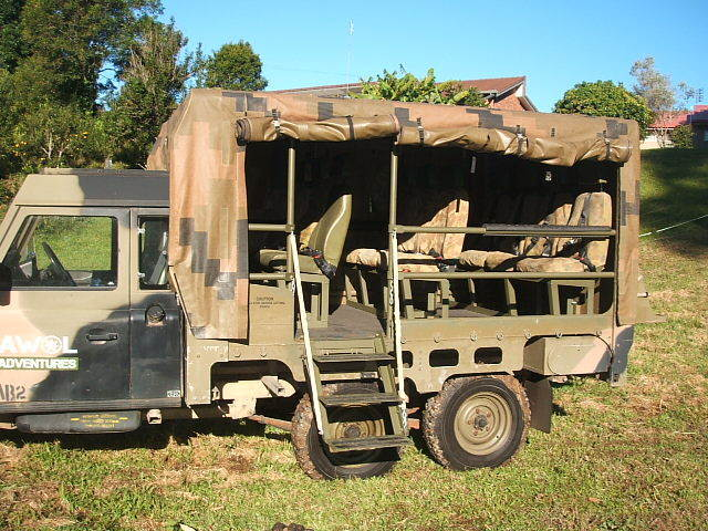 Land Rover 6x6 Perentie Defender 110 12seater For Sale