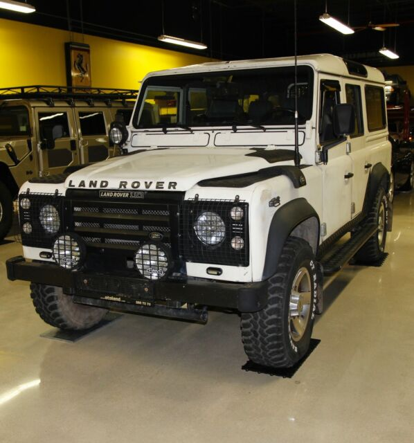 Land Rover Defender 110 White All Original With Minor