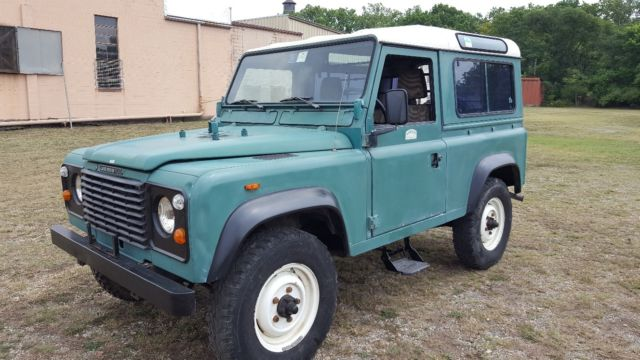 Land Rover Defender 90 LHD 1984 2 5 NA Diesel No Reserve for sale