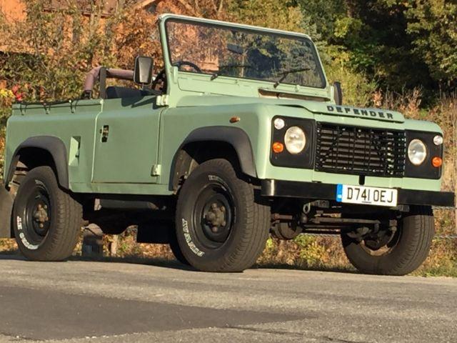Land Rover Defender 90 Soft Top For Sale