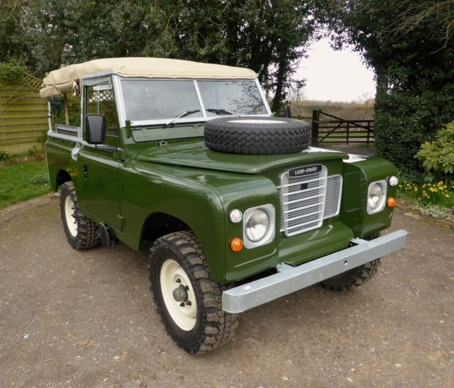 Land Rover Defender 90 Soft Top 1991 Ex Mod Military For