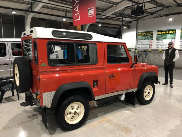 Land Rover Defender For Sale Usa >> Land Rover Defender 90 Station Wagon USA Exportable LHD ...