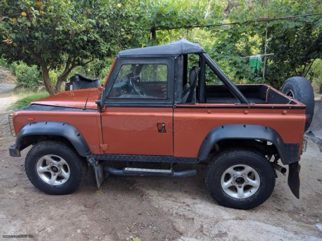 land rover defender cabrio convertible for sale land rover defender 90 convertible 1989 for. Black Bedroom Furniture Sets. Home Design Ideas