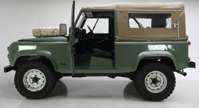 Land Rover Defender Green With 29 006 Miles For Sale For